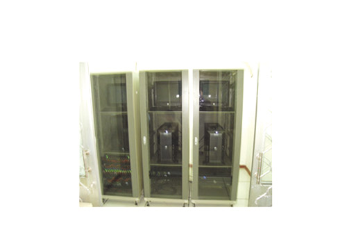 Integrated wiring box cabinet